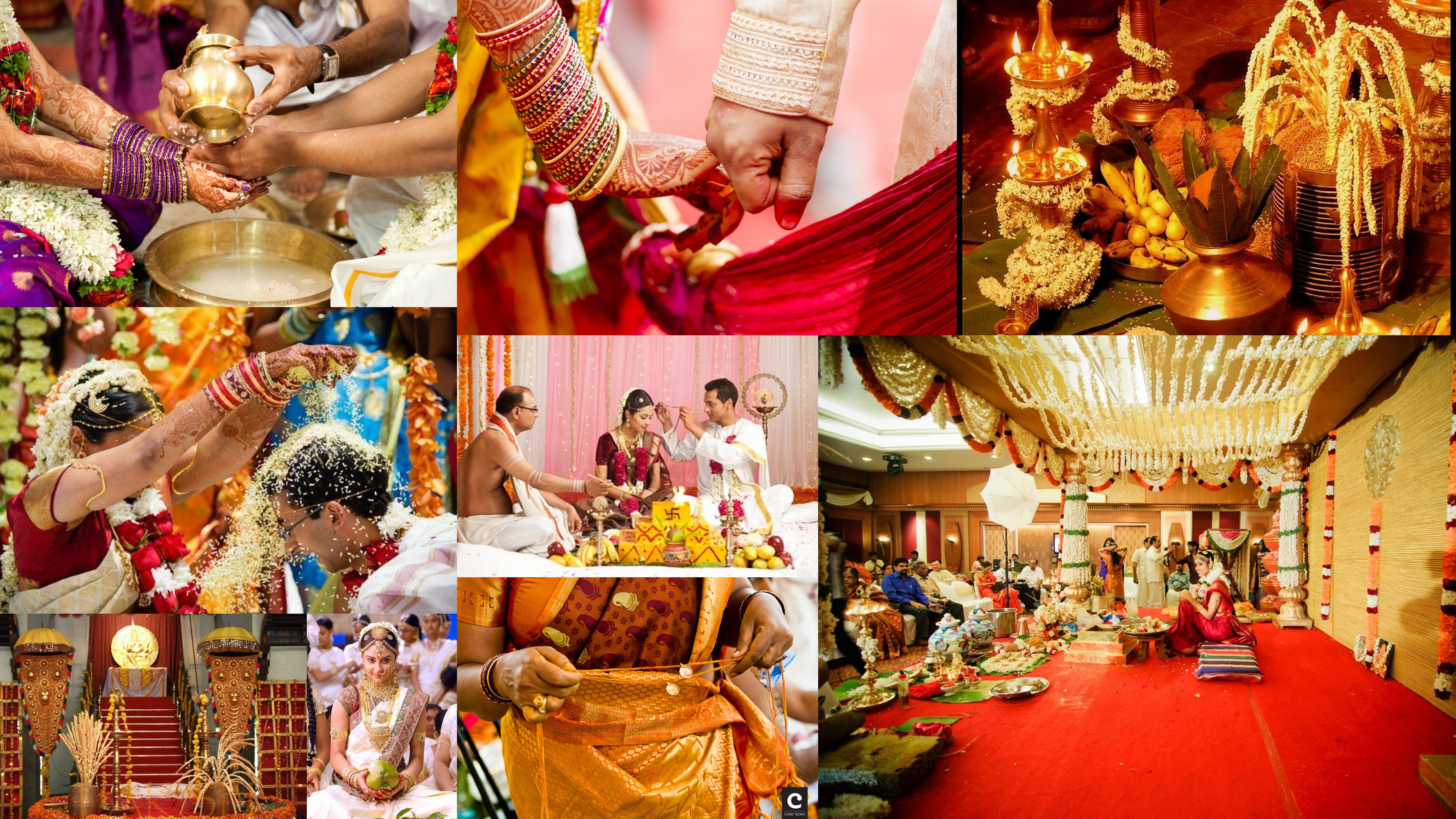 All types of wedding photography services